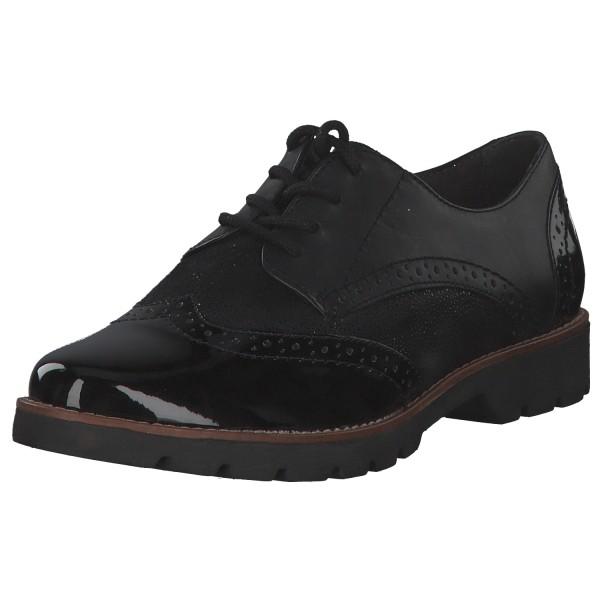 Jana Shoes Damen Halbschuhe 8-8-23702-25/008 Schwarz