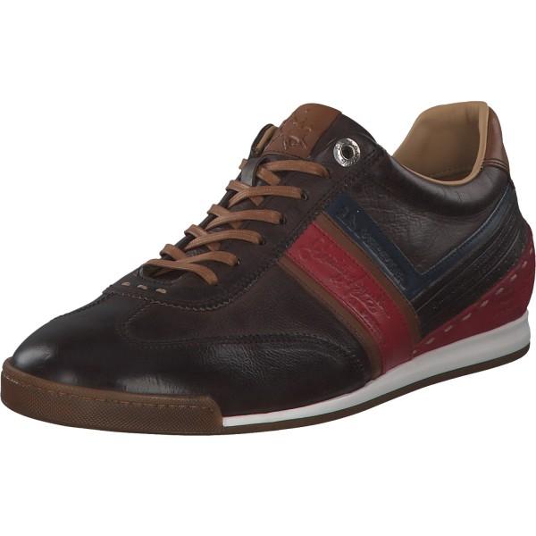 La Martina Scarpa Uomo Todi Herren Sneaker LFM201 Braun