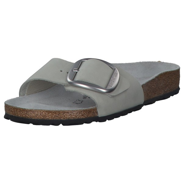 Birkenstock Madrid Big Buckle Damen Sandalen 1016429 Grau